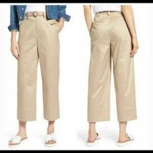 Nordstrom's 1901 High Waisted Cropped Pants